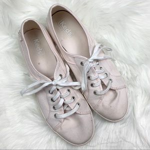 Pale Pink Keds Tennis Shoes Sneakers